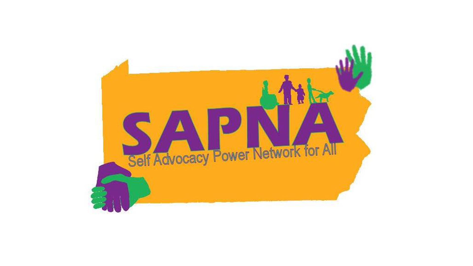 SAPNA self advocacy Power Network For All full size logo - Self Advocacy PNG