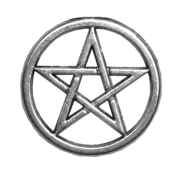 Selunia 1,305 701 Silver Pentacle unrestricted stock PNG by Michelangeline - Pentacle PNG