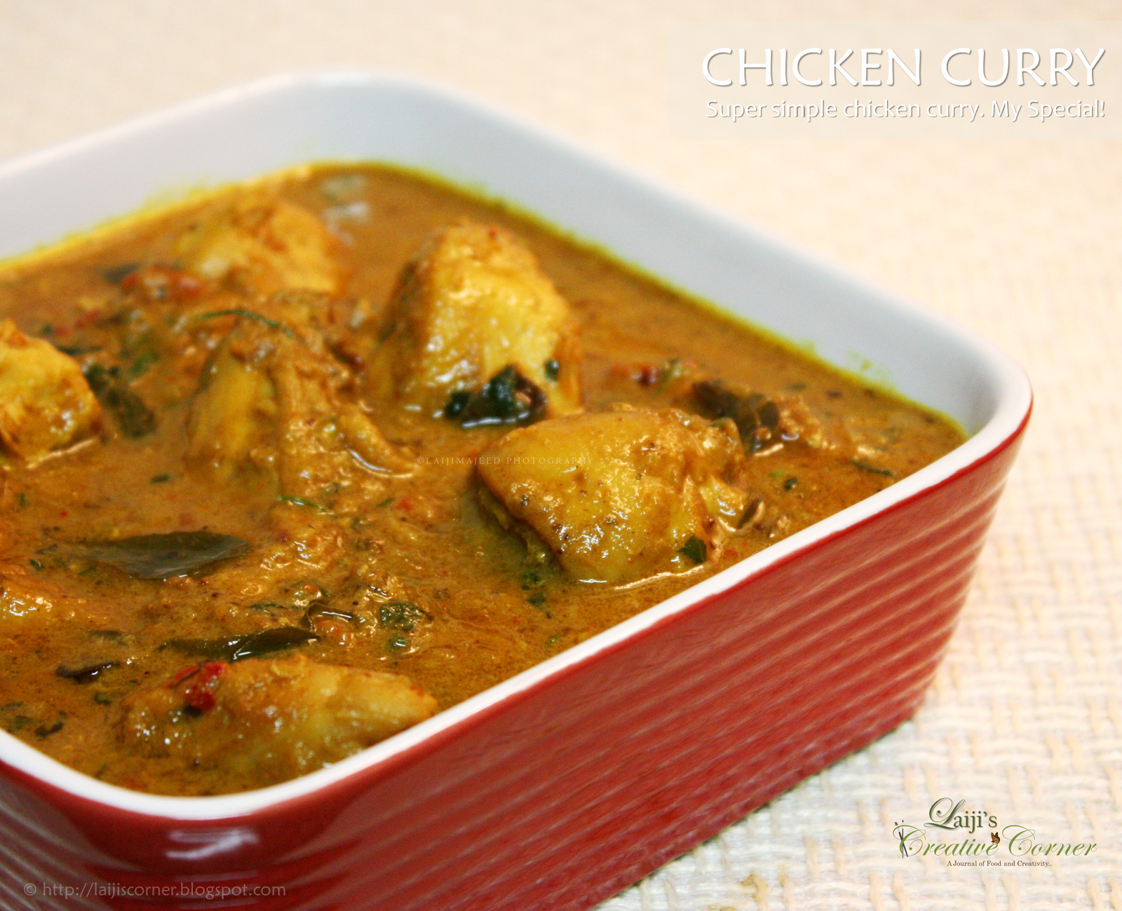 Serves well with rice, roties or anything. - Chicken Curry PNG
