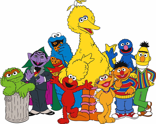 Sesame Street Characters PNG - 85938