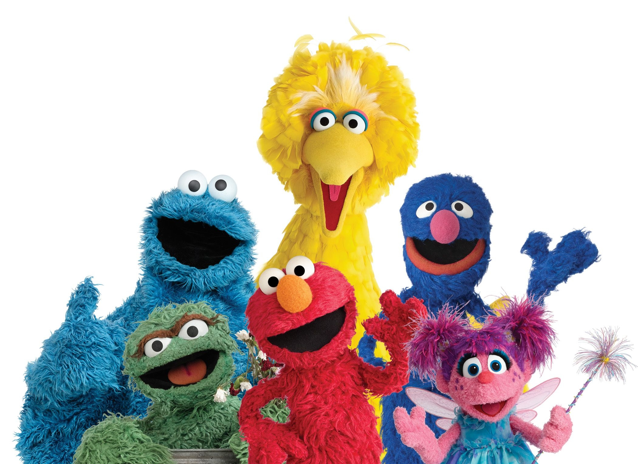Sesame Street characters head to personalized book app - Sesame Street Characters PNG