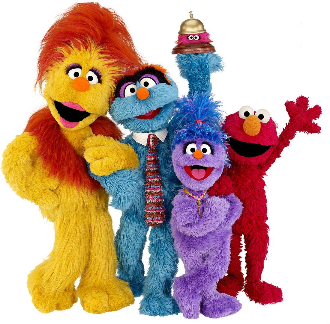 Sesame Street Characters PNG - 85939