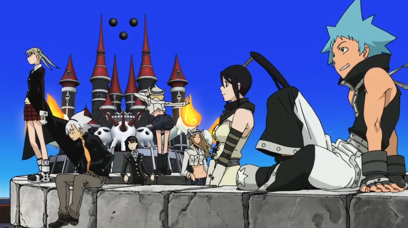 Soul Eater Episode 51 HD - Credits the main seven.png - Seven HD PNG