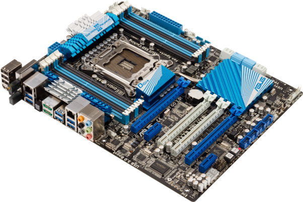 Several exclusive ASUS features make this series of motherboards the ideal  choice for PC users who require a combination of performance, PlusPng.com  - Motherboard PNG
