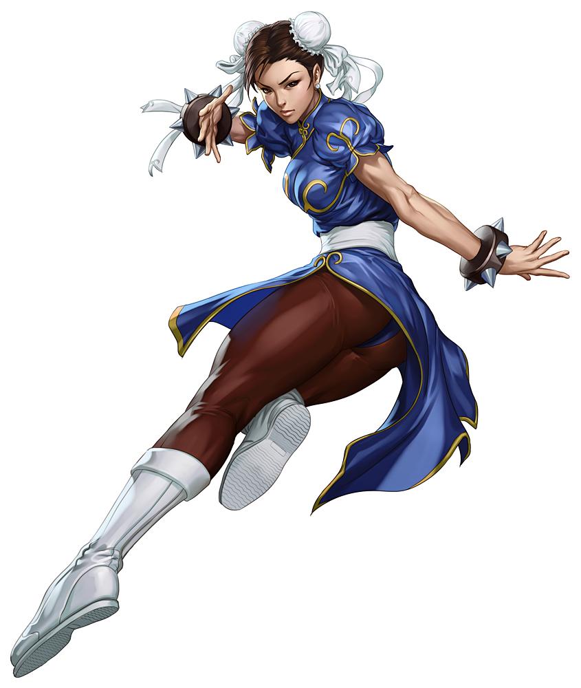 SFIII3rdOnlineChunLi.png - Street Fighter PNG