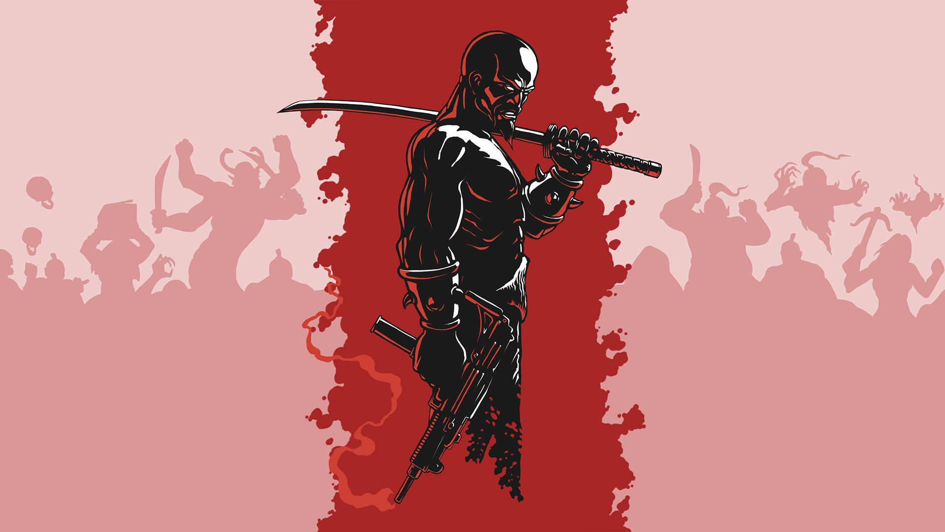 . PlusPng.com Shadow Warrior Classic Redux Steam Card - Lo Wang by Polymental69 - Shadow Warrior HD PNG