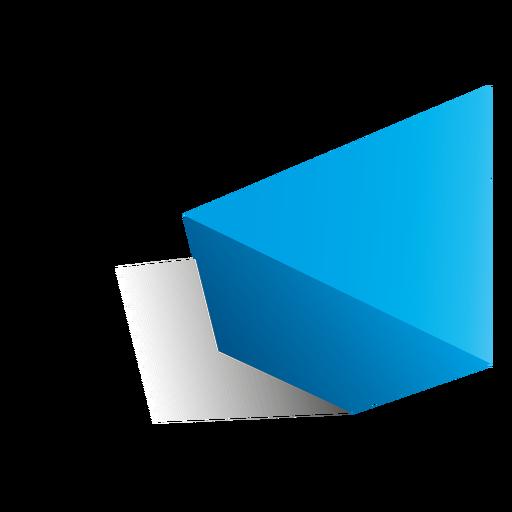 3d triangle shape png - Shape PNG