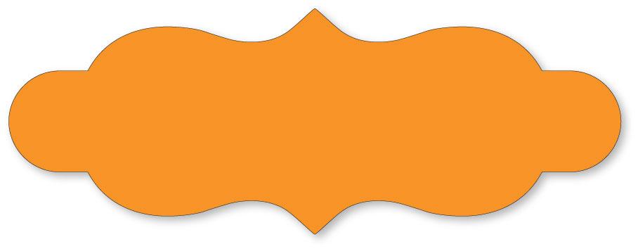 Decorative labels clipart - Shapes PNG HD