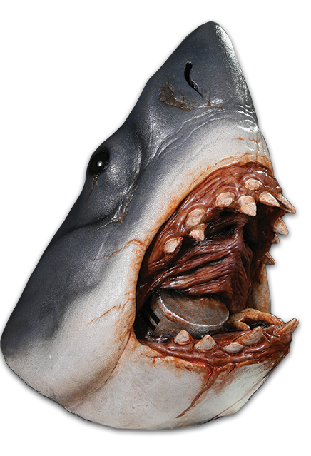 . PlusPng.com JAWS - Bruce the Shark Mask PlusPng.com  - Shark Jaws PNG