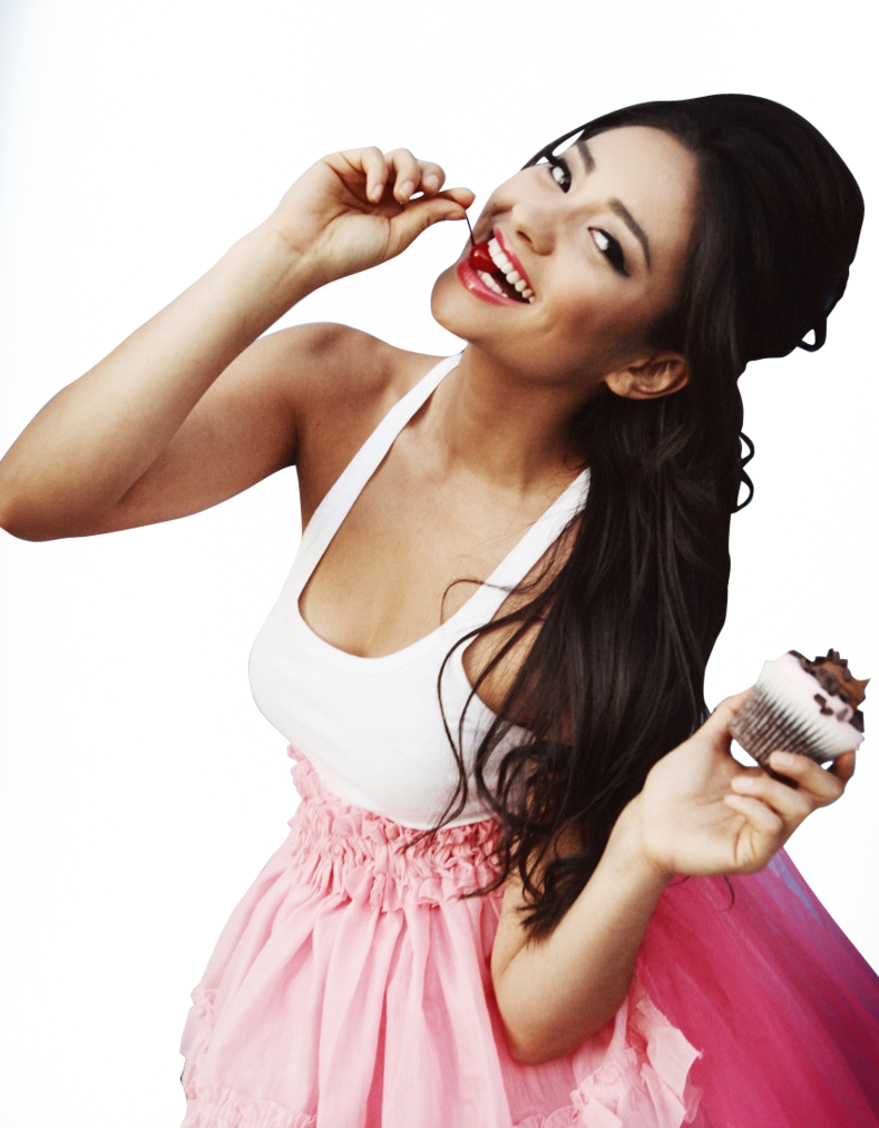 Shay Mitchell Cupcakes PNG by Photoshopement PlusPng.com  - Shay Mitchell PNG