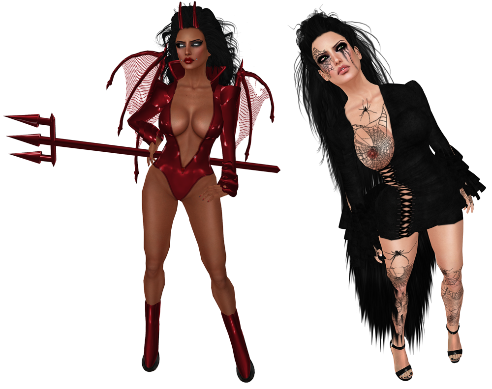 u201cShe Devilu201d u0026 u201cBlack Widowu201d - She Devil PNG