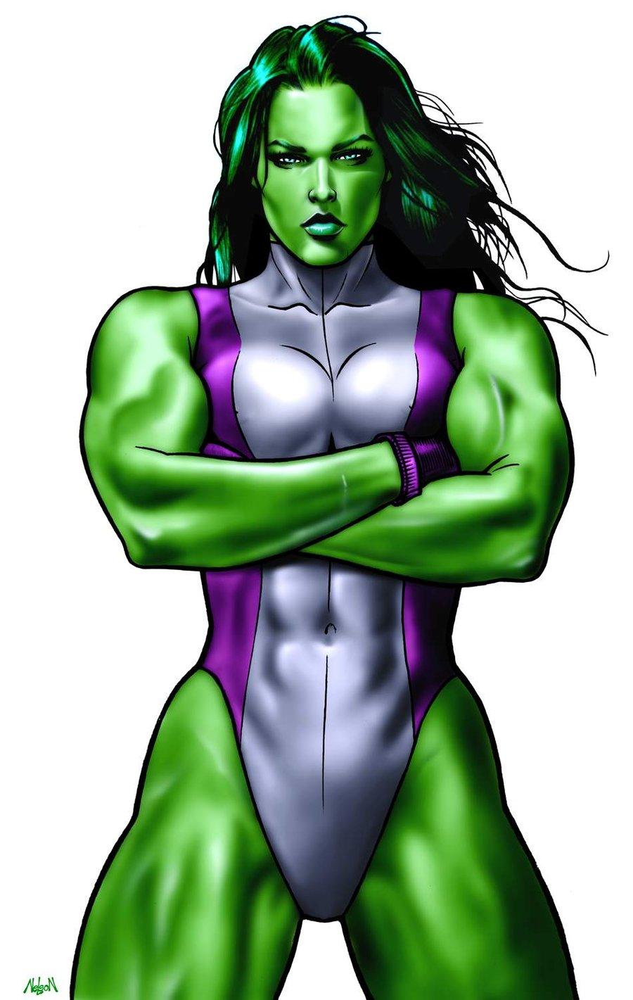 She Hulk PNG-PlusPNG.com-900 - She Hulk PNG