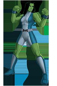She Hulk PNG - 27687
