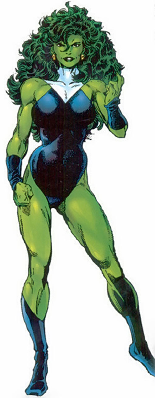 Filename: She-Hulk-Marvel-Comics-Avengers-Fantastic-Four-Gisted.jpg - She Hulk PNG