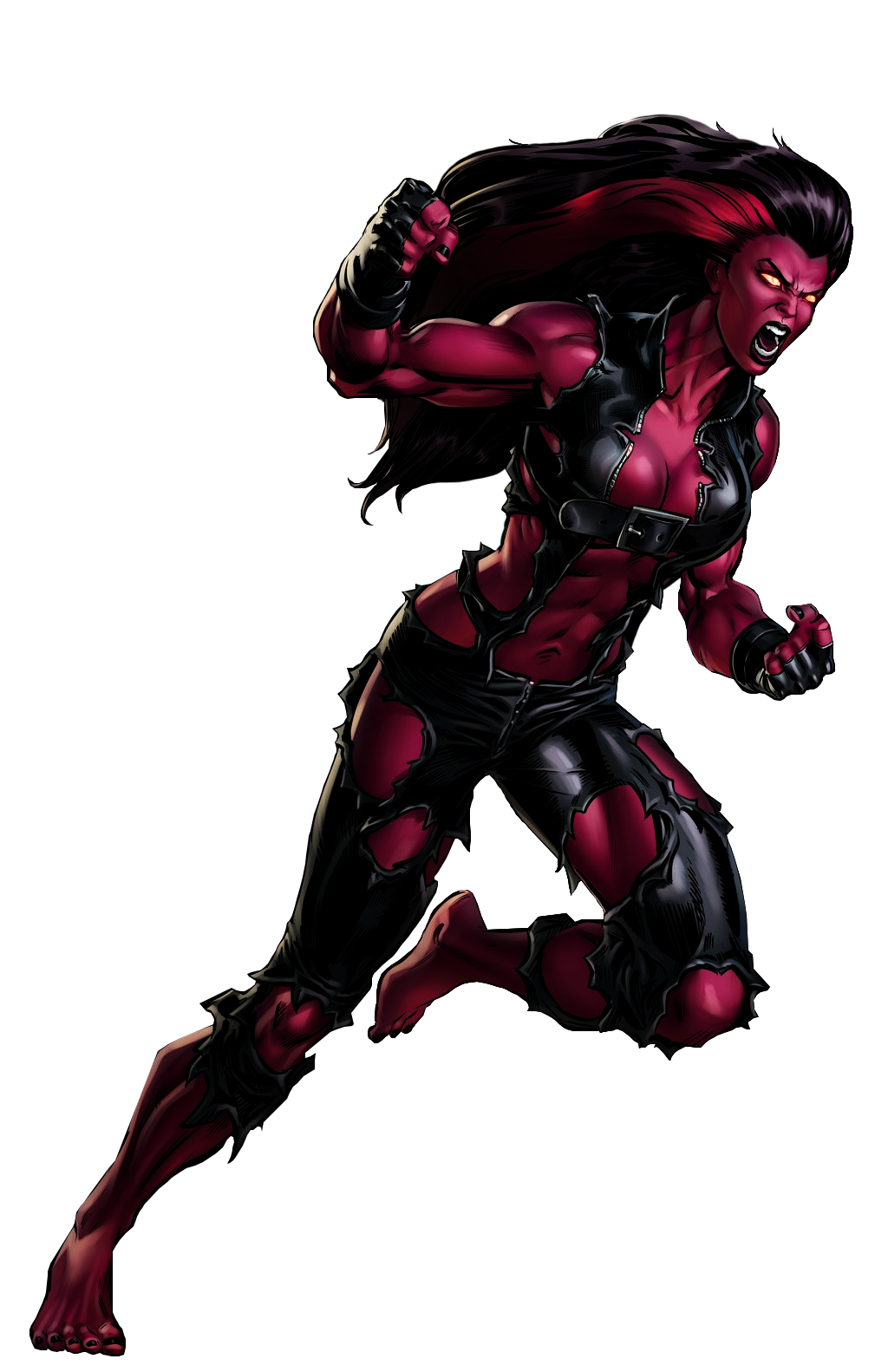 Image - Red She Hulk Portrait Art.png | Marvel: Avengers Alliance Wiki |  FANDOM powered by Wikia - She Hulk PNG