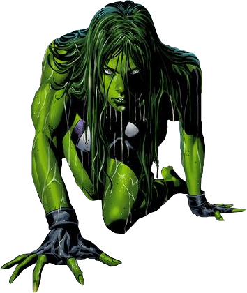Render used - She Hulk PNG