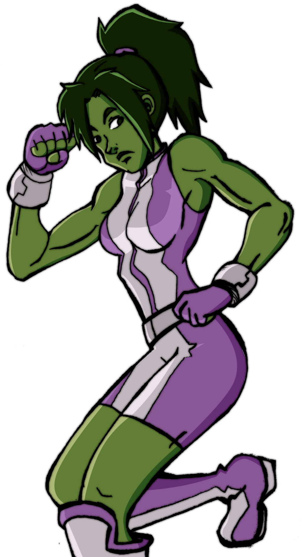 She Hulk by HaruEta She Hulk by HaruEta - She Hulk PNG