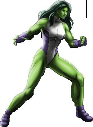 She Hulk PNG - 27681