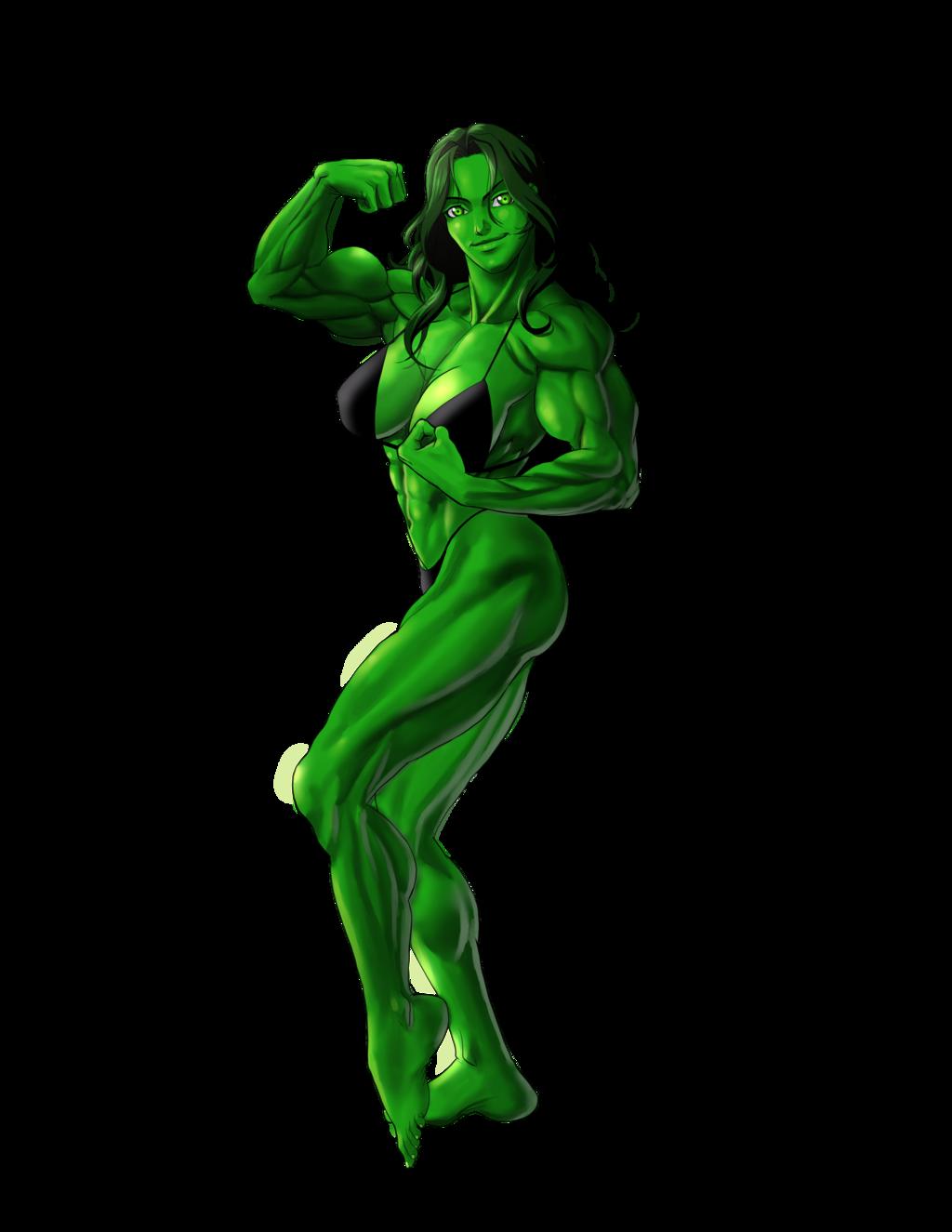 She Hulk PNG - 27686