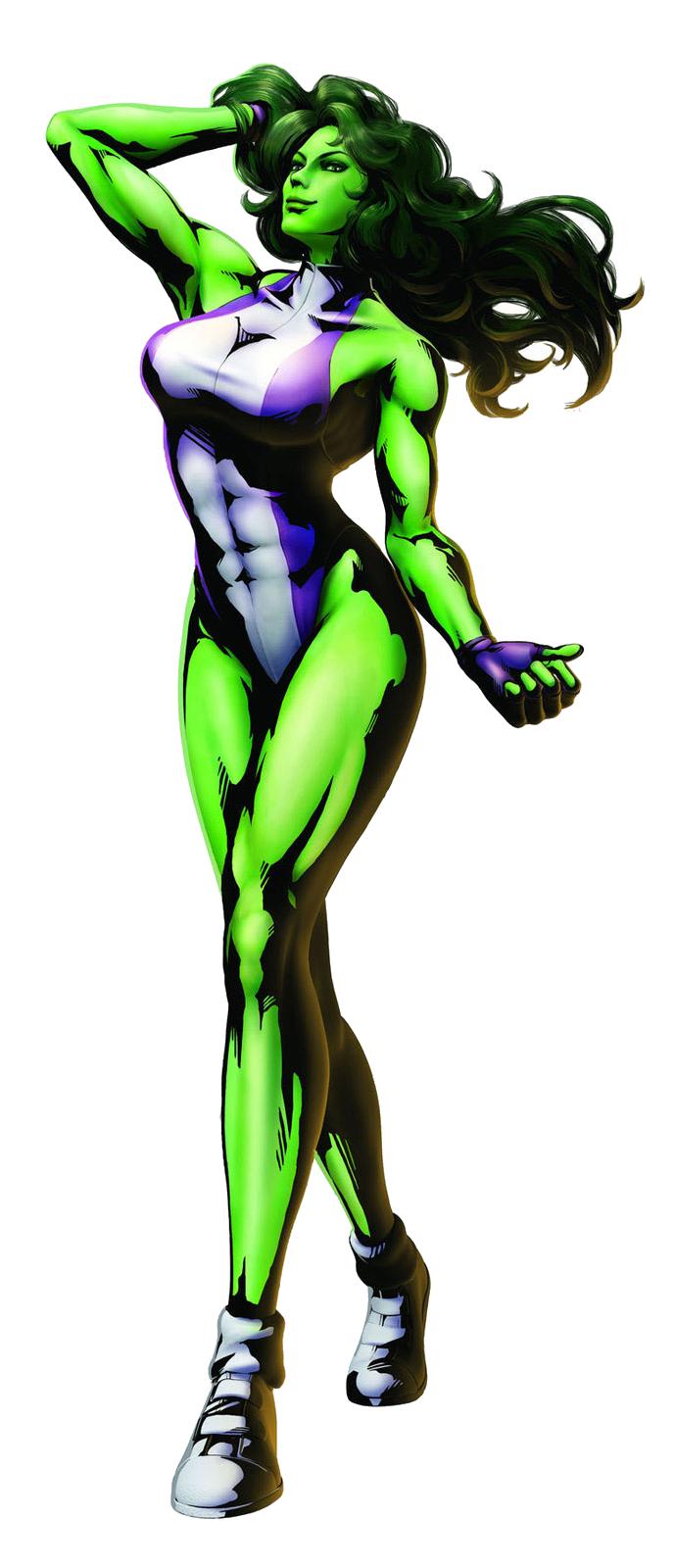 She Hulk PNG - 27682