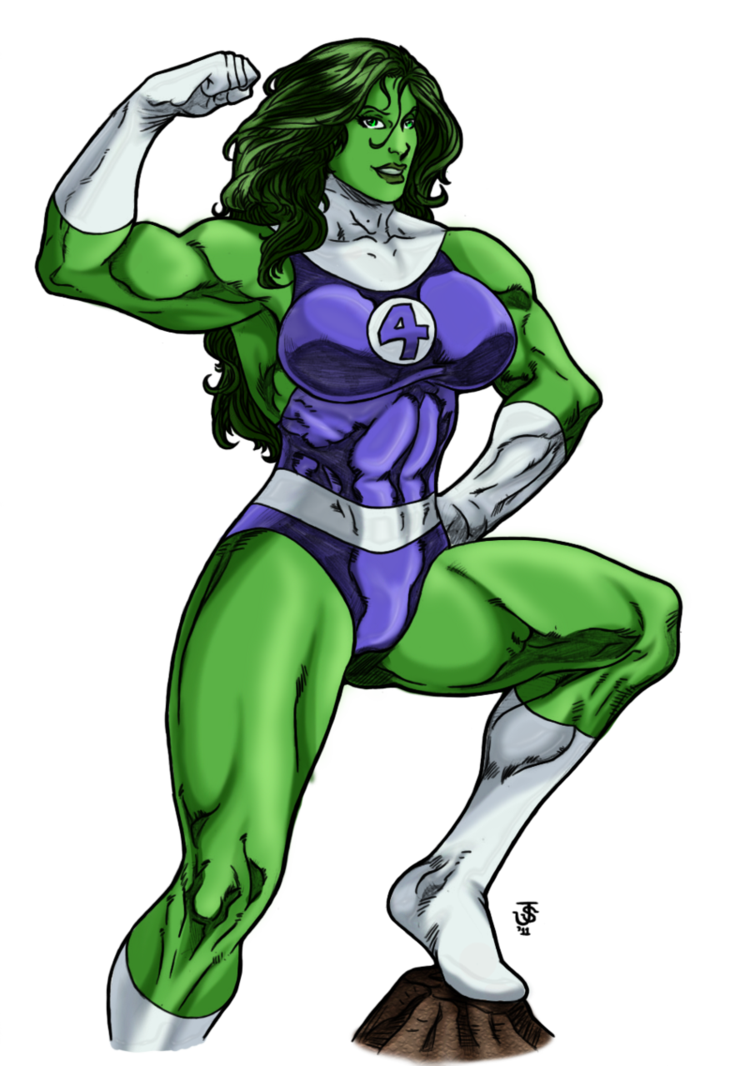 She Hulk PNG Transparent Image - She Hulk PNG