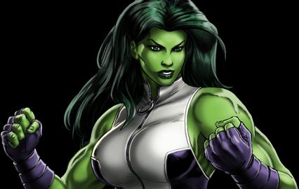 She Hulk PNG - 27695
