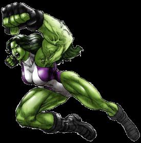 She Hulk PNG - 27693