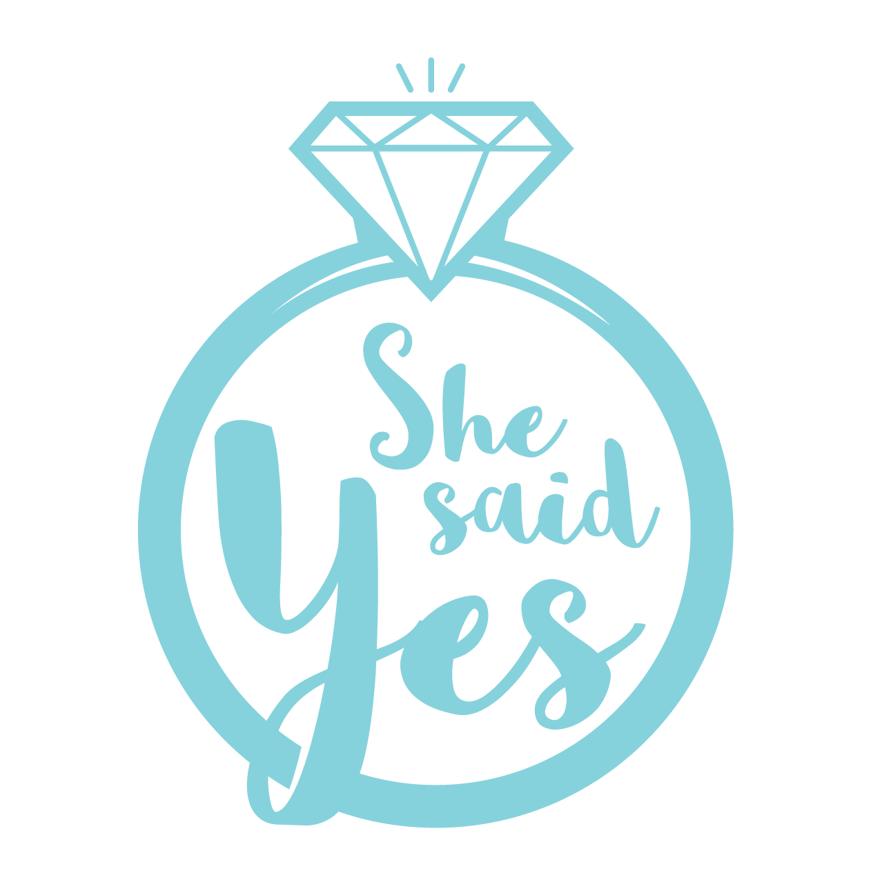 She Said Yes PNG - 41924