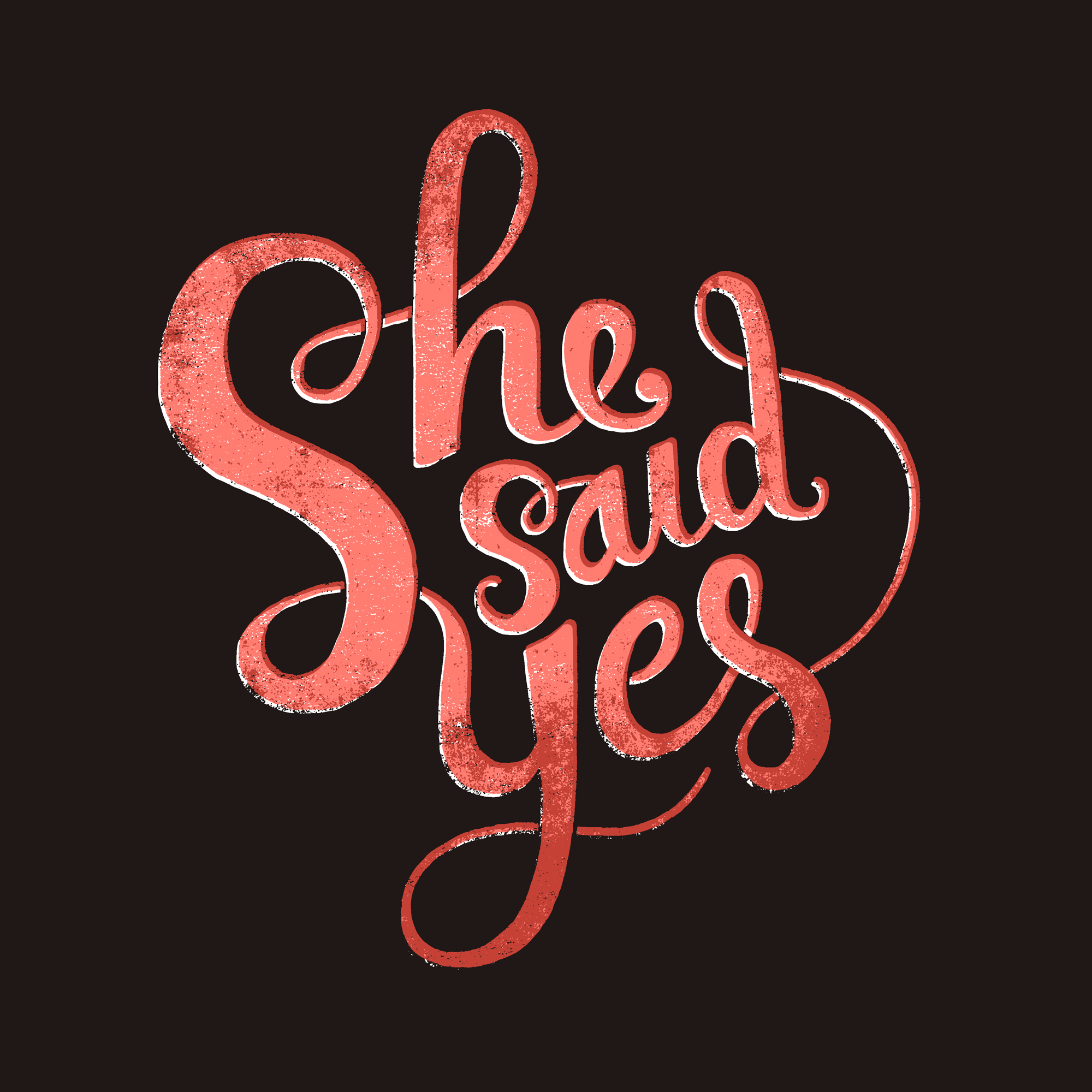 She Said Yes PNG - 41921