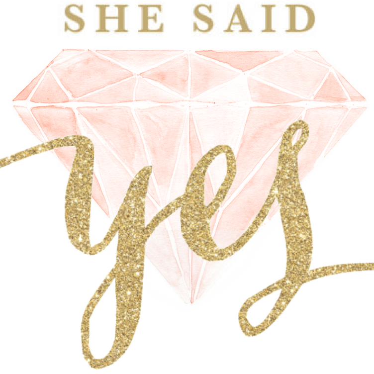 She Said Yes PNG - 41922