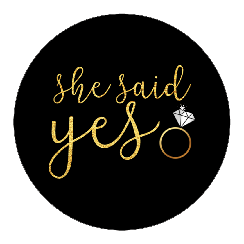 She Said Yes PNG - 41926