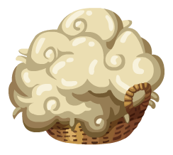 File:Sheeps Wool.png - Sheep And Wool PNG