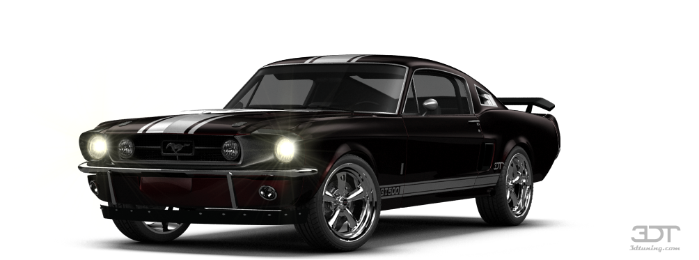 Mustang Shelby GT500 Coupe 1967 Tuning PlusPng.com  - Shelby PNG