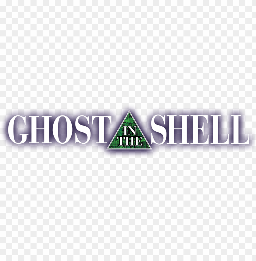 Host In The Shell Logo - Ghost In The Shell Anime Logo Png Image Pluspng.com  - Shell Logo PNG