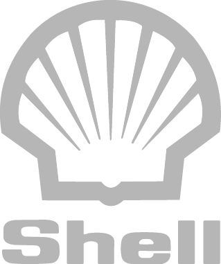 Download Shell Logo Gray Work Example - Shell Oil Logo On Black Pluspng.com  - Shell Logo PNG
