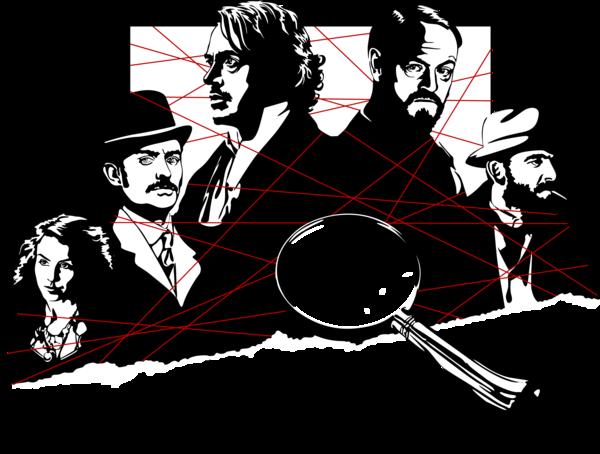 Sherlock Holmes A Game of Shadows by Mad42Sam PlusPng.com  - Sherlock Holmes HD PNG