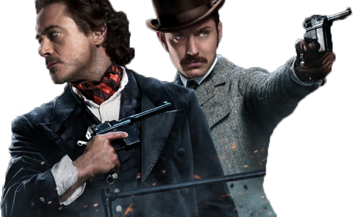 Sherlock Holmes A Game Of Shadows PNG of Poster by ENT2PRI9SE PlusPng.com  - Sherlock Holmes HD PNG