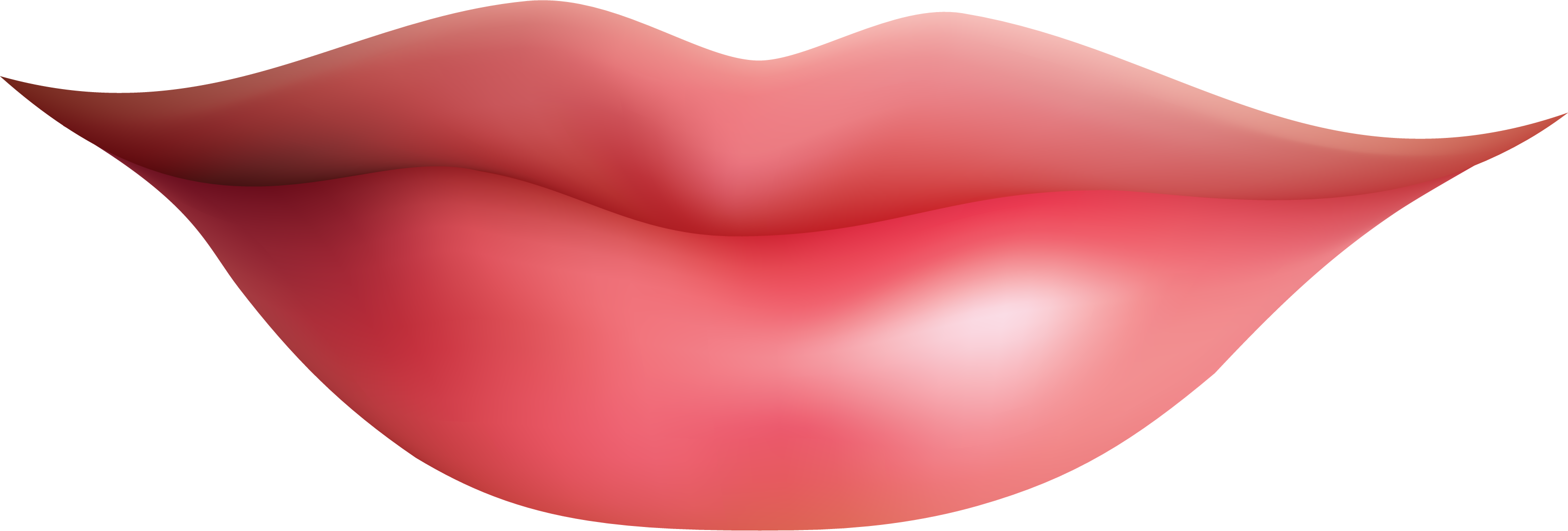Clipart lips clipart image - Shhh Lips PNG