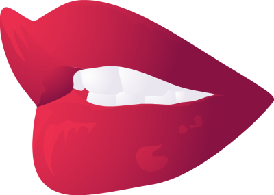 Free vector lips clipart image - Shhh Lips PNG