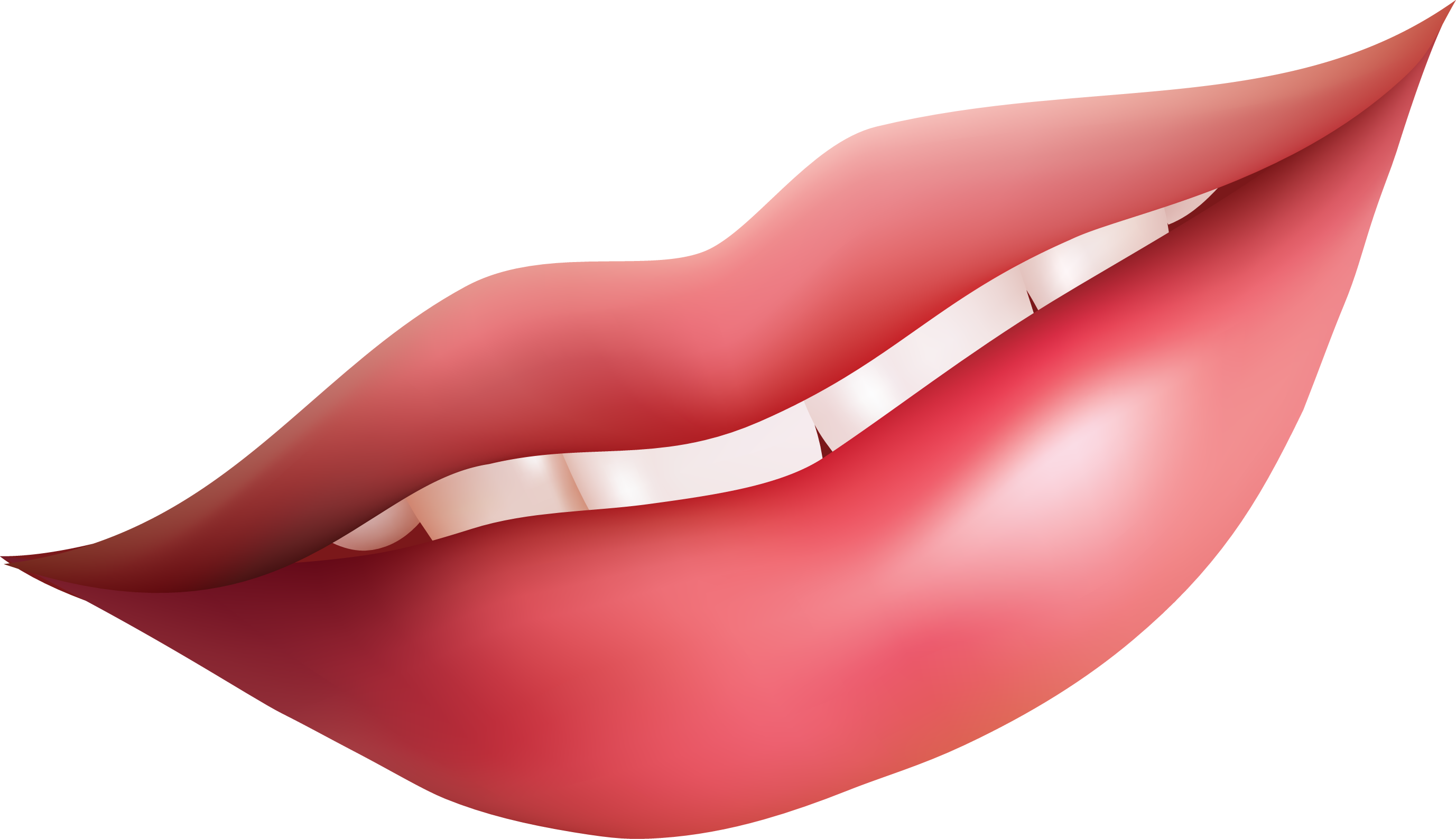 Lips vector clipart image #5508 - Shhh Lips PNG