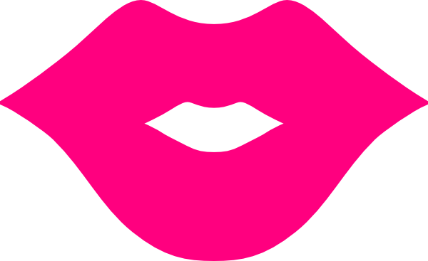 Pink lips clip art pink lips image image #5500 - Shhh Lips PNG