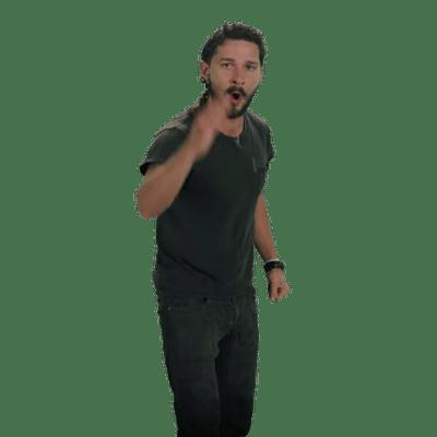 Shia LaBeouf Spit - Shia Labeouf PNG