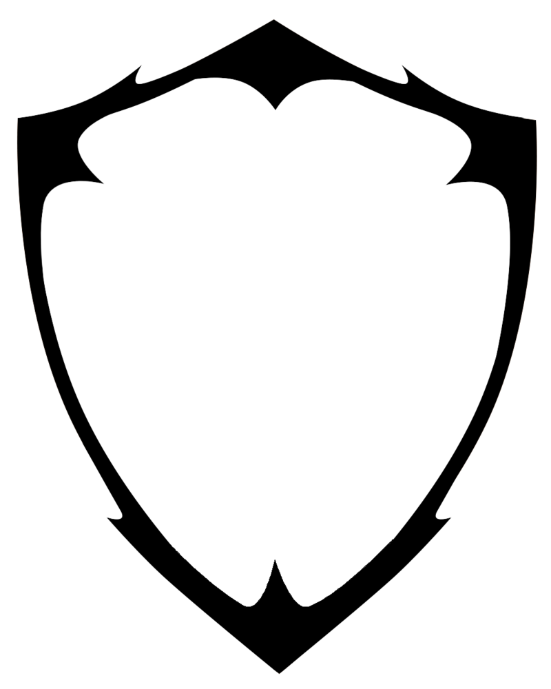 Blank Shield Logo Vector PNG - Shield PNG