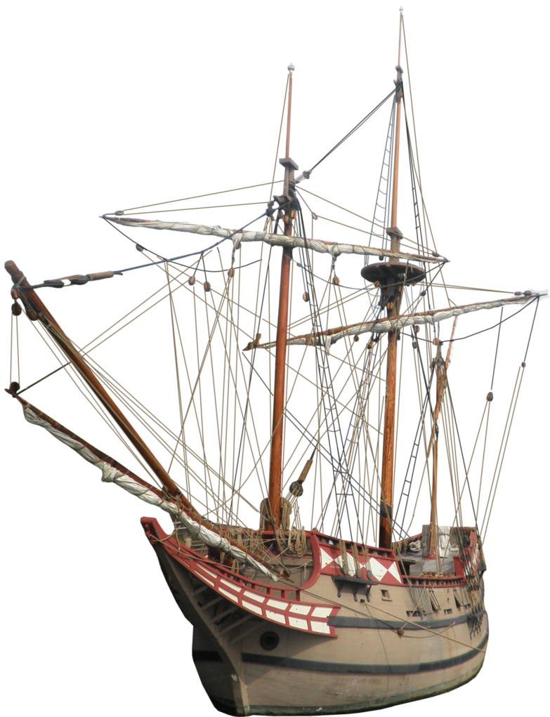 Colonial Ship PNG by Thy-Darkest-Hour PlusPng.com  - Ship PNG HD
