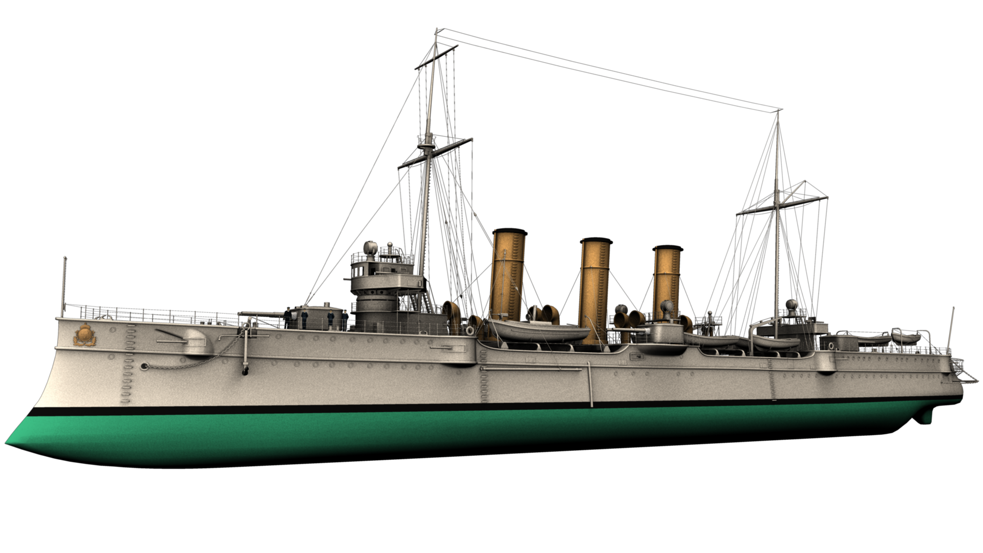 Model done! - Ship PNG HD