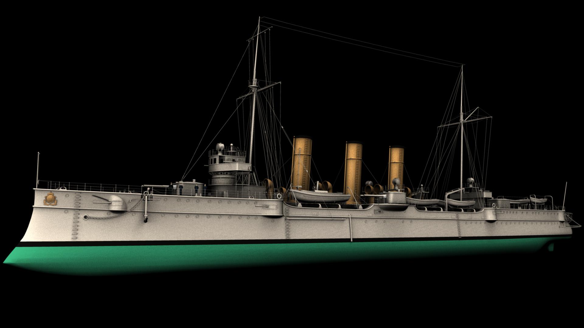 Model done! - Ship PNG HD