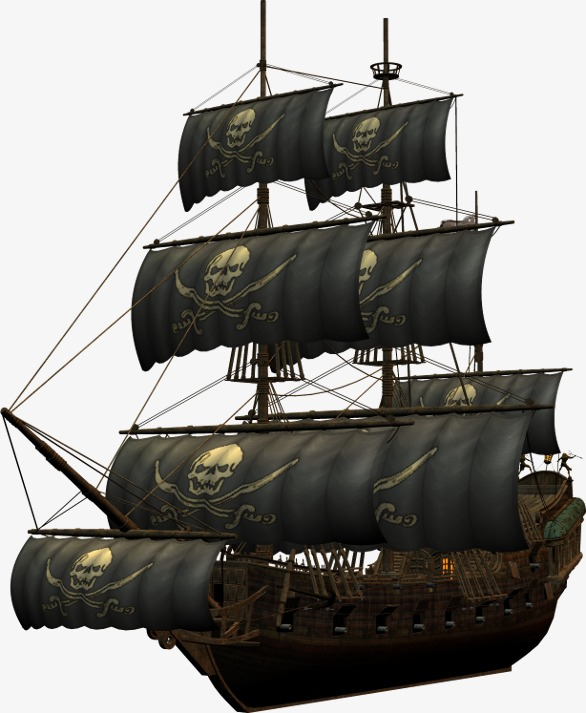 Pirate Ship, Wooden Boat, Ghost Ship, Pirate Ship PNG Image - Ship PNG HD