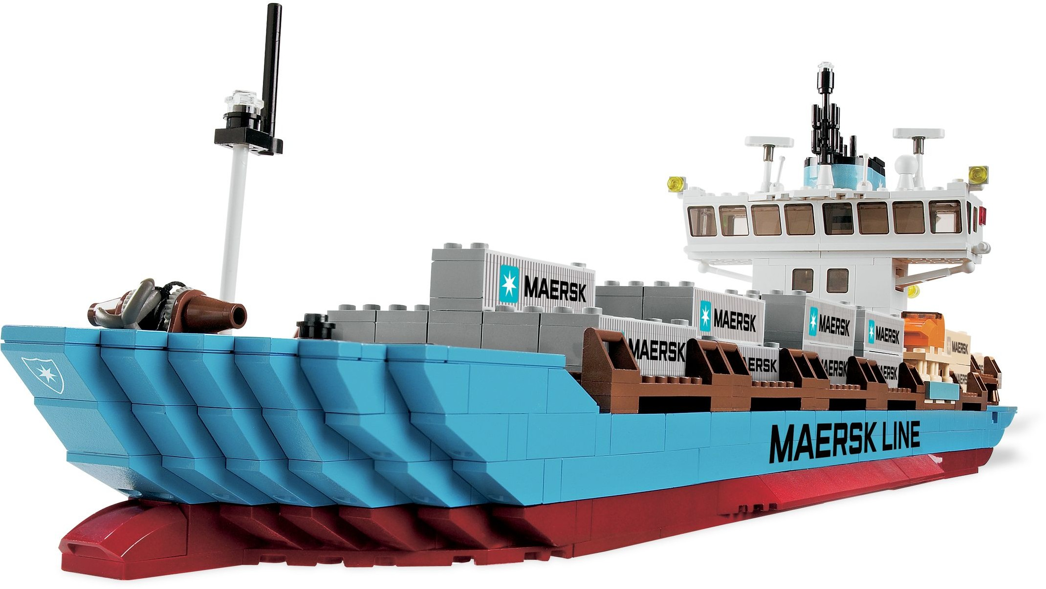 Maersk Line Container Ship - Shipping HD PNG