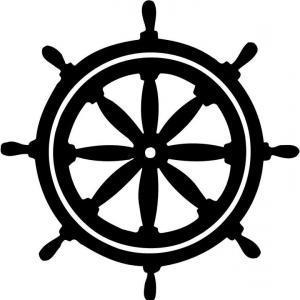 Ships Wheel PNG HD - 131735