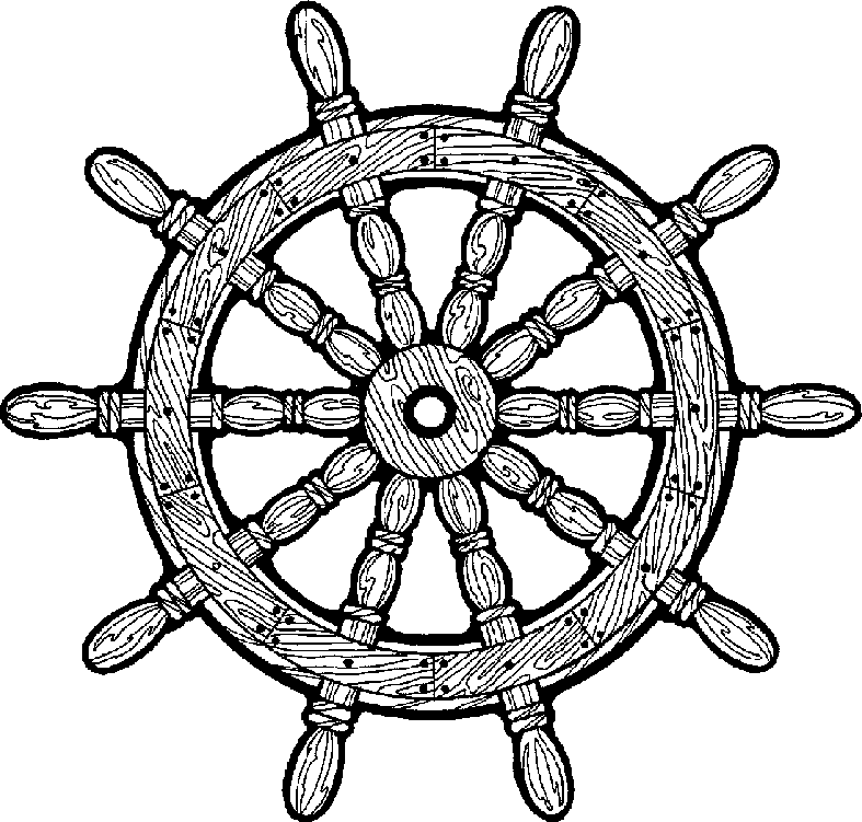 Ships Wheel PNG HD - 131740